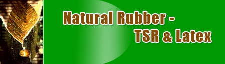 Natural Rubber - TSR & Latex