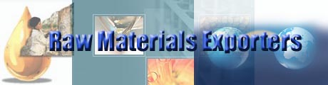 Raw Materials Exporters